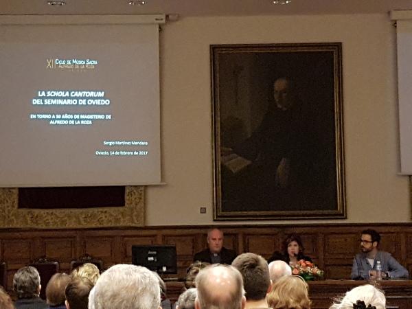 Conferencia Schola Cantorum