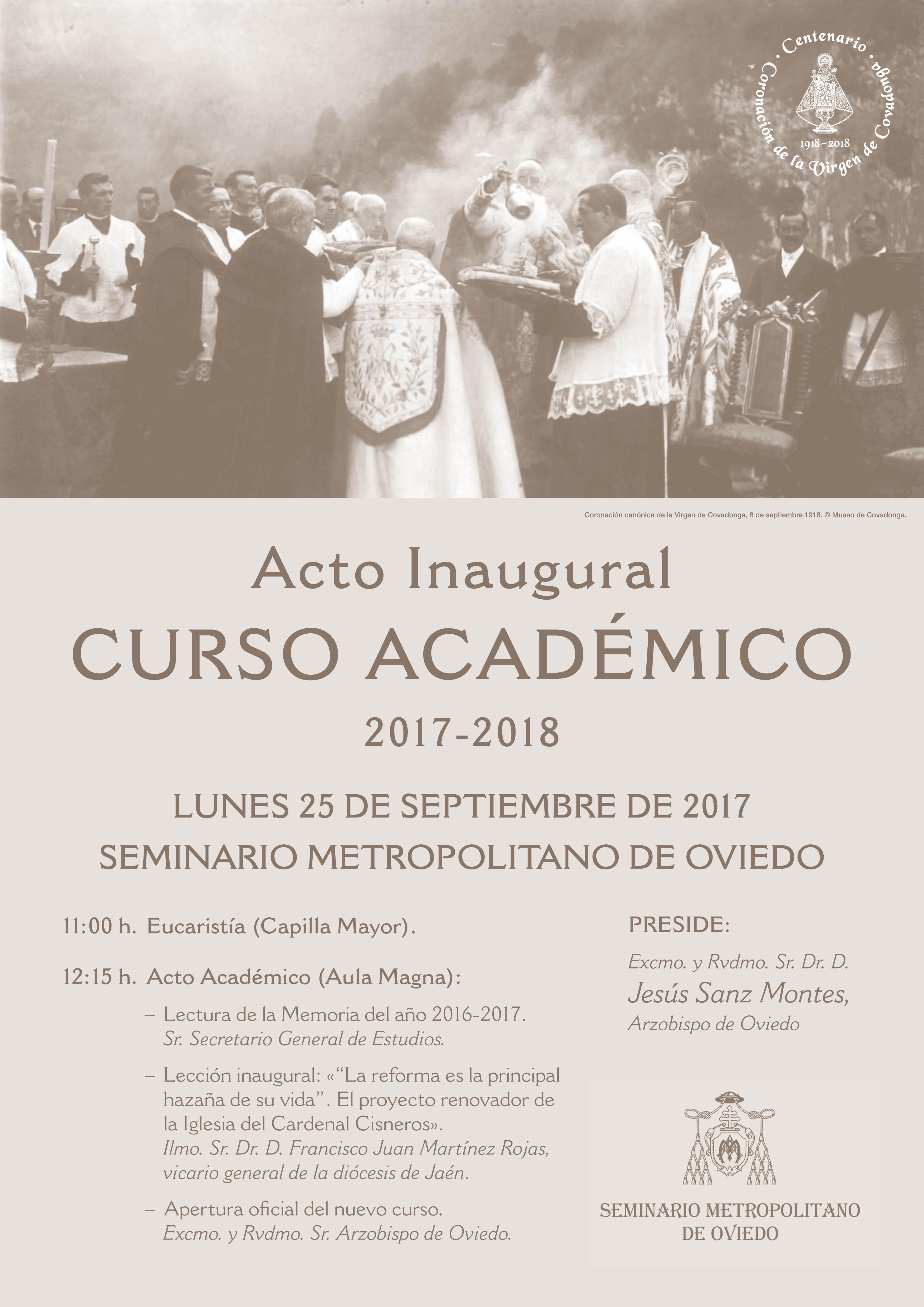 Inauguración del Curso 2017-2018