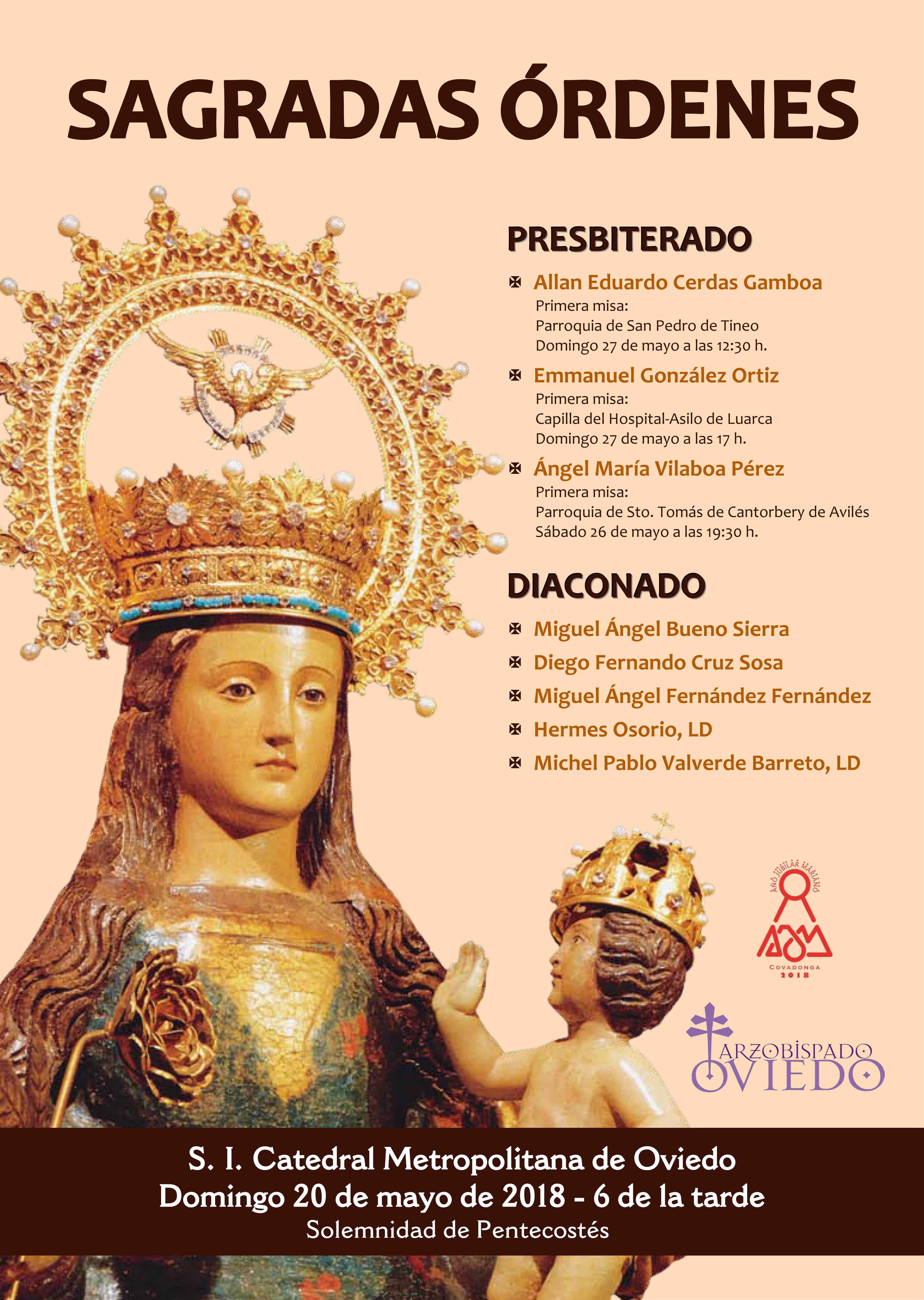 Ordenaciones en nuestra diócesis