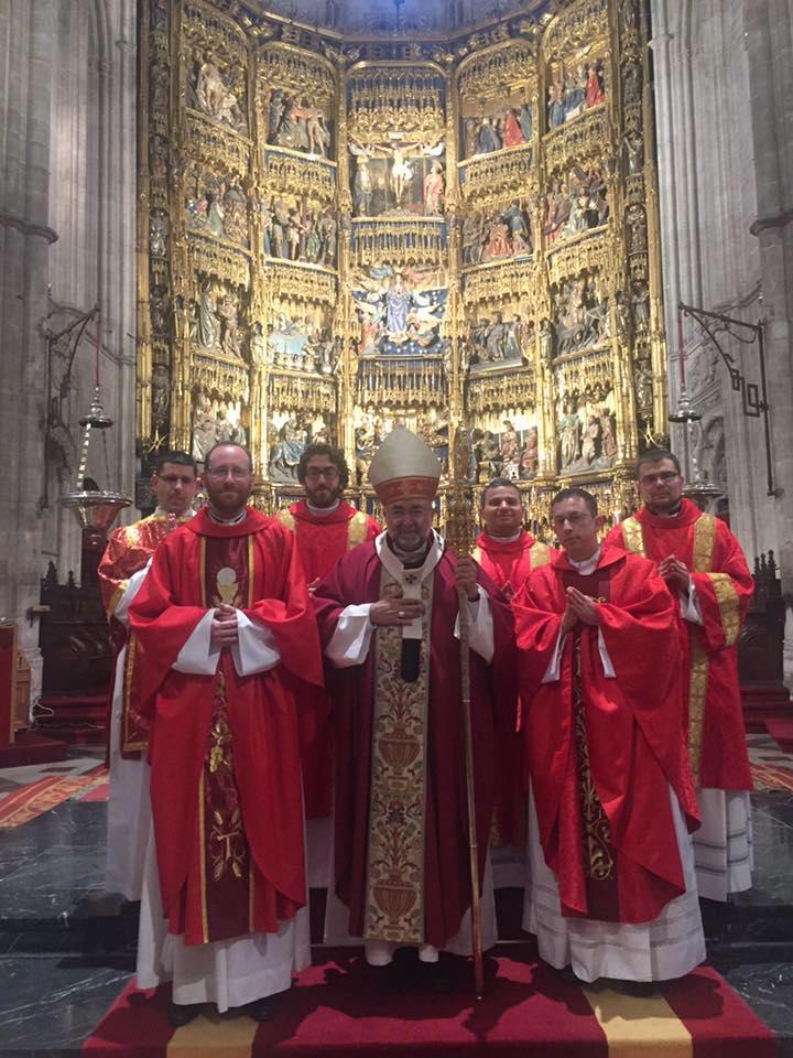 Ordenaciones de Diáconos y Sacerdotes